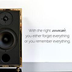 The power of music! #quotes #art #inspiration #hifi #hifiaudio #newcontent #handcrafted #gold #24k #speaker #audiophile #audio #art #luxury #decoration #highend #highendaudio