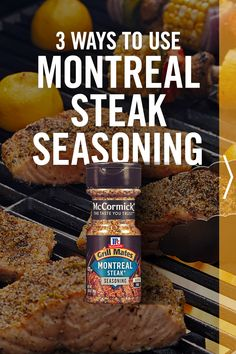 Whether you're hosting a cookout or simply firing up the grill for a weeknight meal, these summer recipes are easy and delicious with the classic summertime flavor of Grill Mates Montreal Steak Seasoning. Steak Recipes, Grilling Recipes, Seafood Recipes, Crockpot Recipes, Outdoor Cooking Recipes, Homemade Seasonings, Grilled Meat, Beef Dishes, Saveur