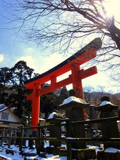 Torii Gate in Lake Ashi #Hakone, #Japan For more pics https://www.facebook.com/lilyrianitravelholic