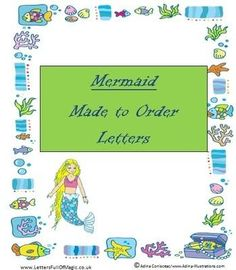Mermaid  Made To Order  Certificates By WwwLettersfullofmagic