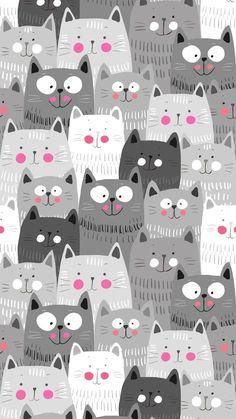 iphone wallpaper cat Papis de parede de gatinhos fofos para whatsapp e celular Wallpaper Gatos, Cat Wallpaper, Mobile Wallpaper, Wallpaper Backgrounds, Cellphone Wallpaper, Purple Wallpaper Phone, Leaves Wallpaper, Laptop Wallpaper, Iphone Backgrounds