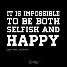 Joyce Meyer quote #happy