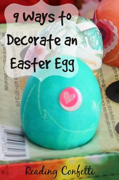 9 ways for kids to decorate Easter eggs
