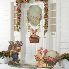- Vintage Easter Cutouts
