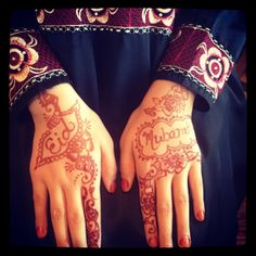 Eid Mubarak from Mariyah. #henna by Khadija
