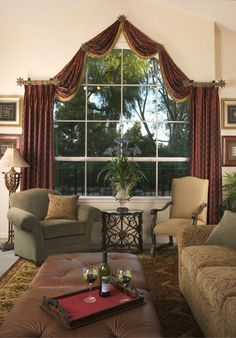 Window Treatments For Arched Windows | Discover creative custom window treatments for arched windows