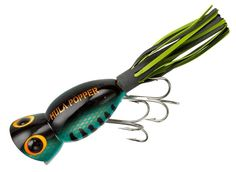 Arbogast Hula Popper 1/4 oz Fishing Lure - Bass * Details can be found by clicking on the image.