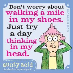 Stuff the shoes, try the hat! ⚠⚠⚠ #AuntyAcid