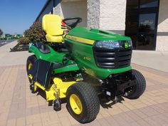9 best john deere images on pinterest tractors john deere john deere x750 garden tractor i want one of these fandeluxe Choice Image