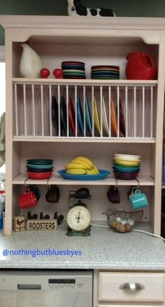 DIY Plate Rack for Cabinet | DIY - Adding a plate rack to my cabinets