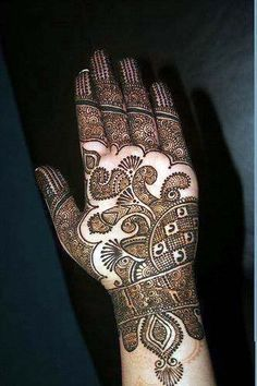 Gorgious Mehandi Designs For Hands
