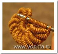 Awesome crochet stitch, but it is in Russian.