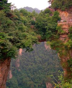 Tianzi Mountains Best Place to See Before You Die - China
