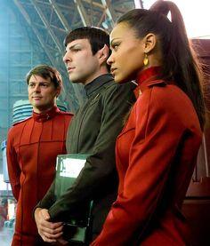 Bones, Spock & Uhura