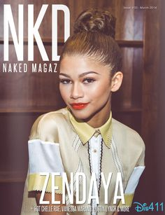 Zendaya On The Cover Of Naked Magazine's March 2014 Issue