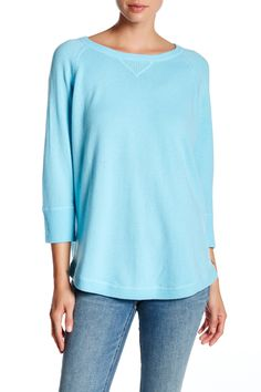 3/4 Length Sleeve Cashmere Sweater