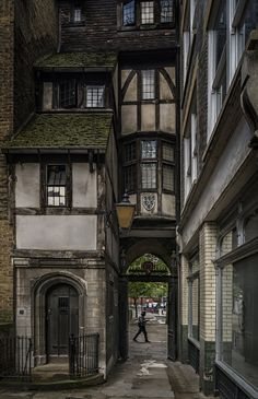 'Old London' St. Bartholomews Gatehouse, Smithfield Photo by Michael Hewson