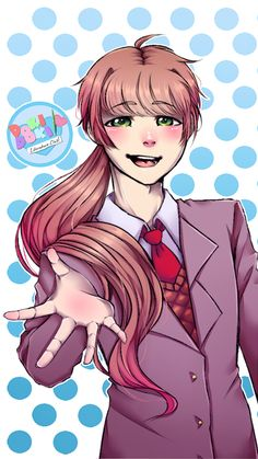 Monika Genderbend Version by fabuwhatsoeverfox on DeviantArt Crawling City, Breaking The Fourth Wall, Oki Doki, Popee The Performer, Rule 63, Psychological Horror, Cute Games, Literature Club, Life Is Strange