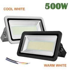 Outdoor Security and Floodlights 183393: 500W Cool Warm White Led Flood Light Landscape Security Work Outdoor 110V Ip65 -> BUY IT NOW ONLY: $128.79 on eBay!