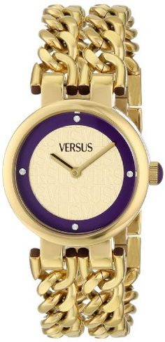 d2549843750e Versus by Versace Women s SGR050013 Berlin Analog Display Japanese Quartz  Gold Watch Relojes