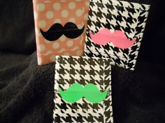 Build Your Own Mustache Duck Tape Wallet.