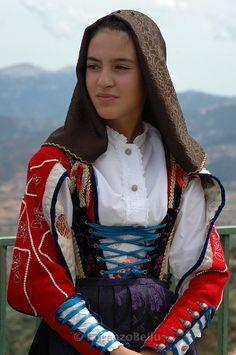Folk Costumes of Sardinia