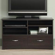 Beginnings TV Stand in Cinnamon Cherry | Nebraska Furniture Mart