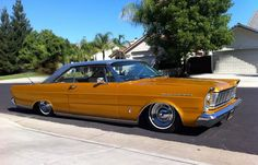 I'm more at home in my galaxie...