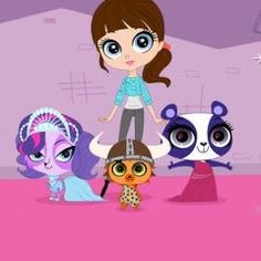 The Hub Network | Cartoons | Littlest Pet Shop | Animal Games & Videos