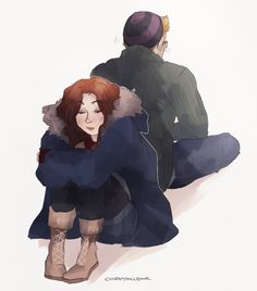 Until Dawn: Chris and Ashley