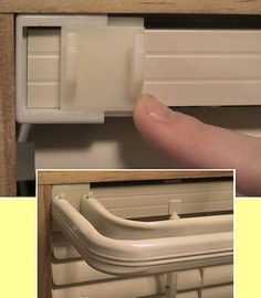 Slide On Bracket as an alternative to drilling holes in the wall for your curtain rod