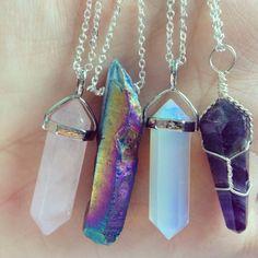 Pinterest: dopethemesz ; oil spill dreams ; marble necklaces