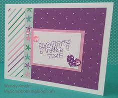 March SOTM Blog Hop (Birthday Time) | My Scrapbooking Blog