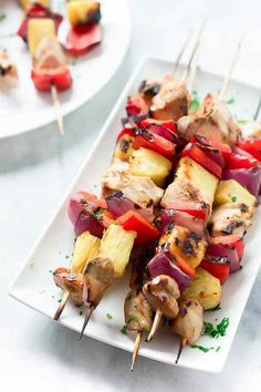 This Grilled Pineapple Chicken is a perfect recipe for your bbq parties. It is flavourful, juicy and very moist. It is marinate with orange juice and soy.