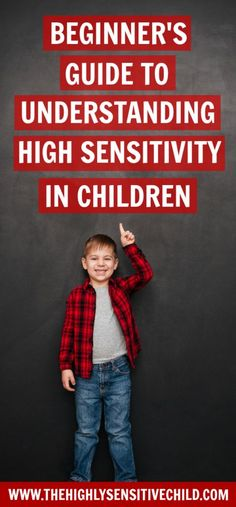 Beginners guide to understanding the highly sensitive child and high sensitivity.  What does it mean to be highly sensitive.  High sensitivity in boys and girls.