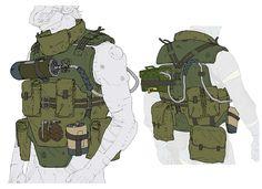 Vest Concept from Metal Gear Online