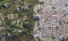 """África Do Sul - Imagens de drone mostram """"arquitetura do apartheid"""""""