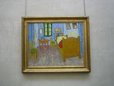 Van Gogh' Bedroom in Arles, 1889, Van Gogh, Musée d'Orsay, June 2008 by Matthew Felix Sun, via Flickr
