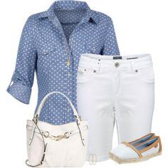 White Superdry Shorts