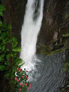 Looking Down La Paz Waterfall - http://www.govisitcostarica.com/region/city.asp?cID=388