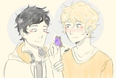 Tiberius Blackthorn Christopher Herondale THIS COULD LITERALLY BE WILL AND NICO ASFHVV