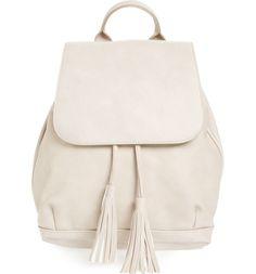 Tassle Backpack / @n