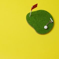 Shibaful Sport Coaster Golf Green / シバフル ゴルフ グリーン コースター