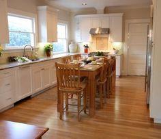 Long Narrow Kitchen Island Table | Home ideas | Pinterest | Narrow ...