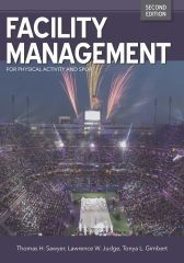 New Book Available: Facility Management: For Physical Activity and Sport has released a second edition! Get the eBook now for half the price of the print book and get instant access!