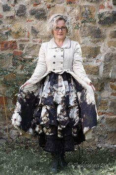 784b04973372 Ewa i Walla Jacket Striped Linen Original 66308 AW18   Ankleiderei    Online-Shop für