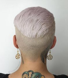 Ink and short hair, best combo ever