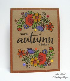 Created by Lin for the Simon Says Stamp Wednesday challenge (Anything Goes) October 2014