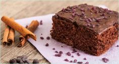 Actually, I wanted this delicious chocolate spice cake without butter, milk and . Delicious Vegan Recipes, Vegan Desserts, Yummy Food, Delicious Chocolate, Vegan Chocolate, Cakes Without Butter, Milk And Eggs, Vegan Christmas, Vegan Kitchen