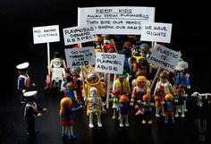 Playmobil revolt